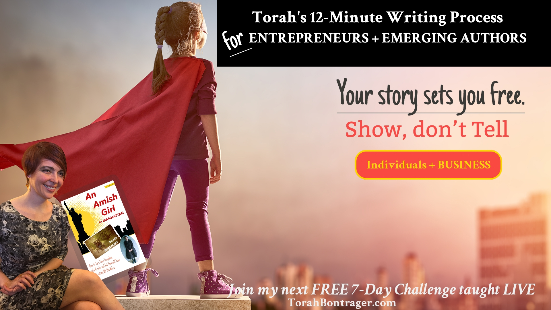 7-Day Challenge to #EmbraceYourStory [FREE] using The 12-Minute Writing Process TM